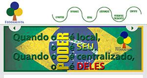 Site Partido Federalista